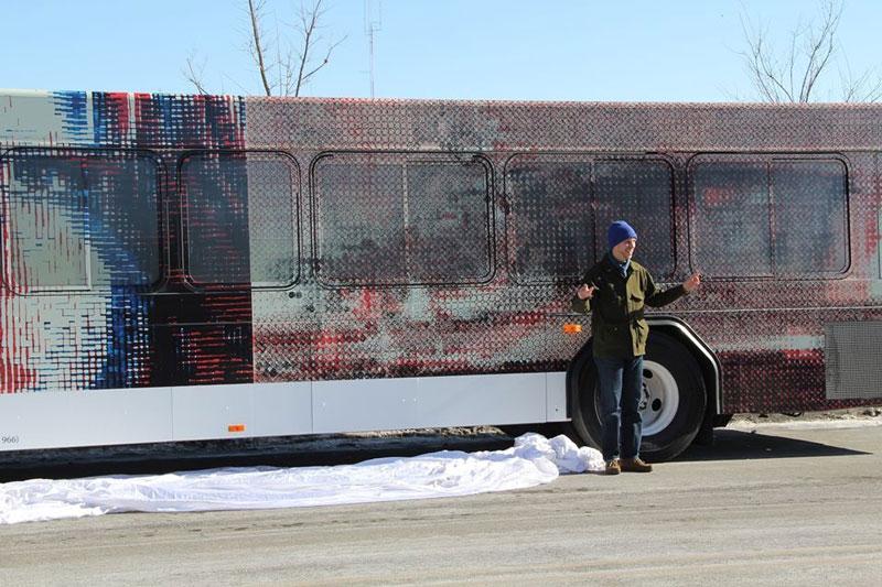Alex Brown bus wrap